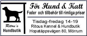 Ritou's - Elevage de Västgötaspets en Suède, d'où vient notre Senta